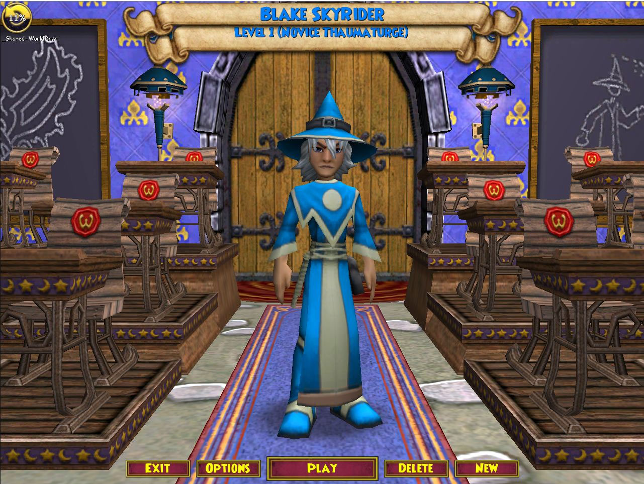 wizard101 wizards name in wizard