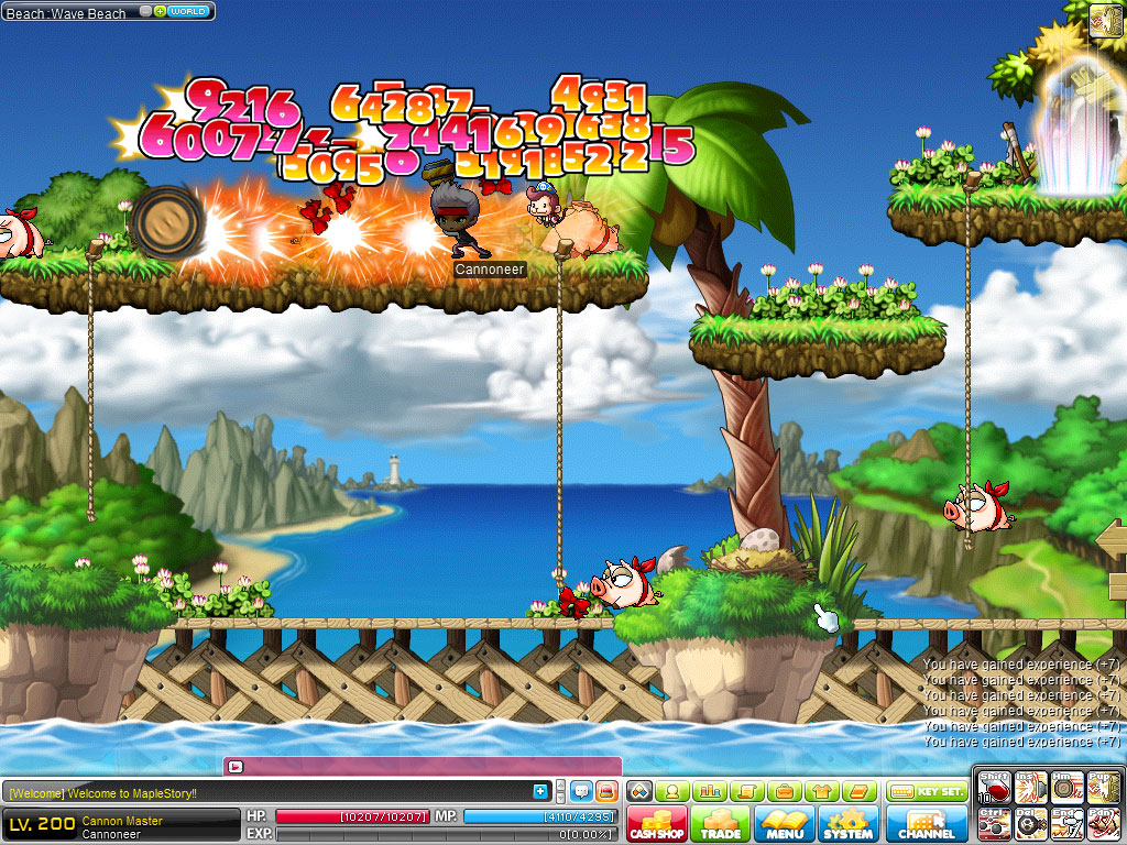 how to change pic for maplestory